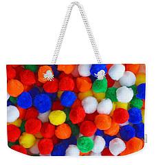 Pom Poms Weekender Tote Bag