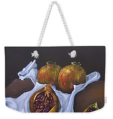 Pomegranates Weekender Tote Bag