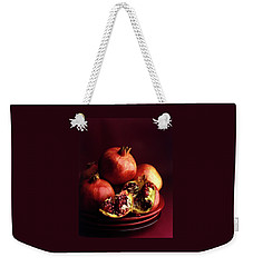 Pomegranates Weekender Tote Bag by Romulo Yanes