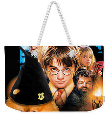 Pomeranian Art Canvas Print - Harry Potter Movie Poster Weekender Tote Bag
