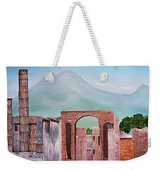 Pompeii And Vesuvius   Weekender Tote Bag