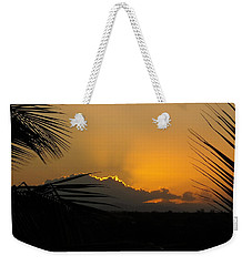Weekender Tote Bag featuring the photograph Ponce Sunrise by Daniel Sheldon