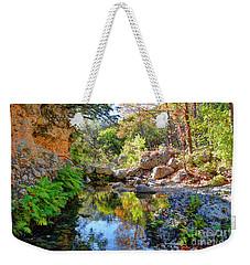 Pond At Lost Maples Weekender Tote Bag