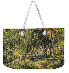Pond Reflections Weekender Tote Bag by Jane Luxton