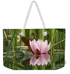 Pond Reflections Weekender Tote Bag by Judy Whitton