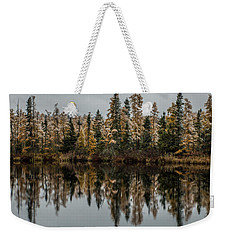 Pond Reflections Weekender Tote Bag
