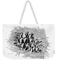 Ponderosa Pine Cone Weekender Tote Bag