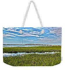 Ponquogue Bridge Weekender Tote Bag