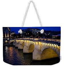 Pont Neuf Bridge - Paris - France Weekender Tote Bag