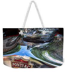 Pontiac Hood Ornament Weekender Tote Bag by Victor Montgomery