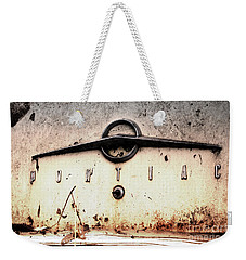 Weekender Tote Bag featuring the photograph Pontiac by Rebecca Davis