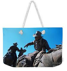 Pony Express Weekender Tote Bag