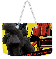Poodle  Art - Love Is My Profession Weekender Tote Bag