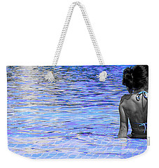 Pool Weekender Tote Bag