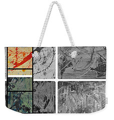 Weekender Tote Bag featuring the photograph Poor And Rich by Sir Josef - Social Critic - ART