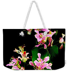 Poor Mans Orchid Weekender Tote Bag by Amar Sheow