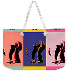 Pop Art Penguin  Weekender Tote Bag