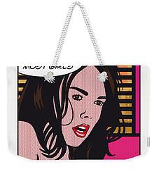 Pop Art Porn Stars - Dillion Harper Weekender Tote Bag