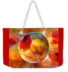 Pop Twombly Weekender Tote Bag by Robin Moline
