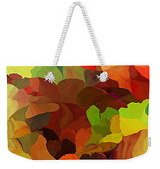 Weekender Tote Bag featuring the digital art Popago by David Lane