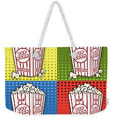 Popcorn Pop Art-jp2375 Weekender Tote Bag
