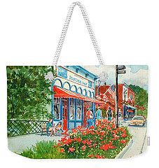 Popcorn Shop In Summer/chagrin Falls Weekender Tote Bag