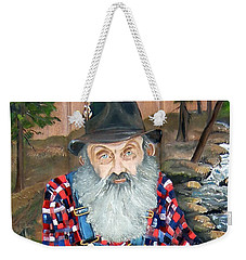 Popcorn Sutton - Moonshine Legend - Landscape View Weekender Tote Bag
