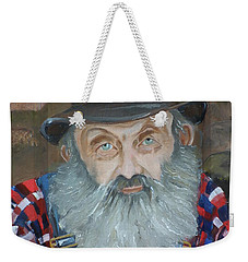 Popcorn Sutton - Moonshiner - Portrait Weekender Tote Bag