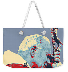 Pope John Paul II Weekender Tote Bag by Jean luc Comperat