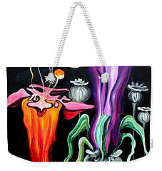 Poppies Fantasy.. Weekender Tote Bag by Jolanta Anna Karolska