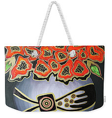 Poppies Revisited.. Weekender Tote Bag
