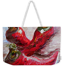 Poppin' Peppers Weekender Tote Bag