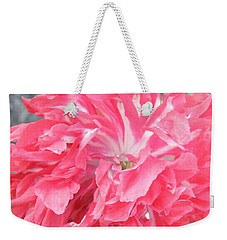Popping Pink Weekender Tote Bag by Brian Boyle