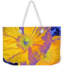 Poppy 14 Weekender Tote Bag by Pamela Cooper