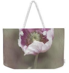 Poppy Weekender Tote Bag by Elaine Teague