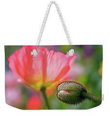 Poppy In Waiting Weekender Tote Bag