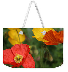 Poppy Iv Weekender Tote Bag by Tiffany Erdman