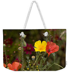 Poppy Love Weekender Tote Bag