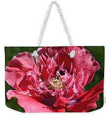 Poppy Pink Weekender Tote Bag by Jim Hogg