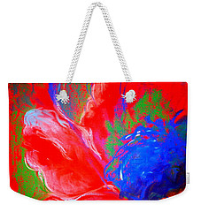 Poppy Time Weekender Tote Bag