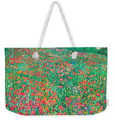Poppy View Weekender Tote Bag