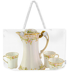 Porcelain Pitcher And Cups Weekender Tote Bag