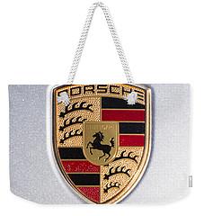 Porsche Emblem 911 Weekender Tote Bag