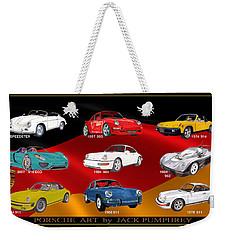Porsche Times Nine Weekender Tote Bag