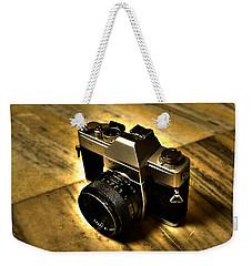Weekender Tote Bag featuring the photograph Porst Flex Slr by Salman Ravish