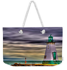 Weekender Tote Bag featuring the photograph Port Dalhousie Lighthouse by Jerry Fornarotto