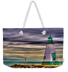 Port Dalhousie Lighthouse Weekender Tote Bag by Jerry Fornarotto