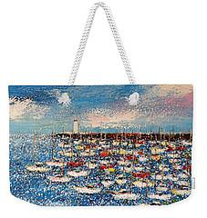 Port Weekender Tote Bag