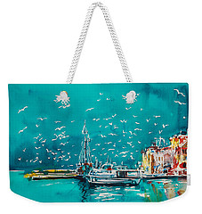 Port Weekender Tote Bag
