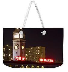 Port Of San Francisco Weekender Tote Bag